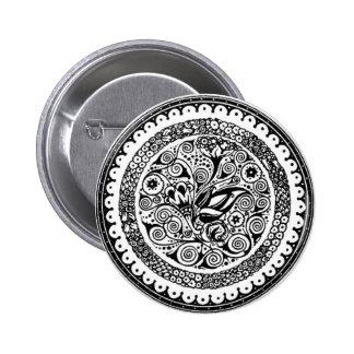 Motif 6 Cm Round Badge
