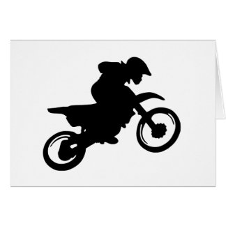 moto trial.png greeting card