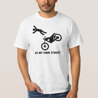 Motorcycle My Own Stunts Tshirt