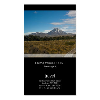 Mount Ngauruhoe & Mount Tongariro Pack Of Standard Business Cards