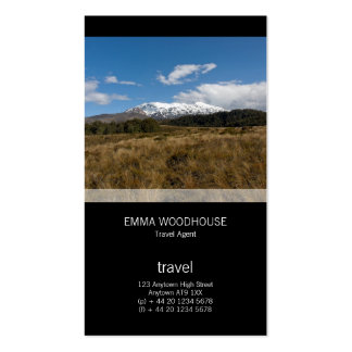 Mount Ruapehu Pack Of Standard Business Cards