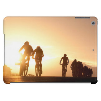 Mountain Bike Riders Make Their Way Over The Top iPad Air Covers