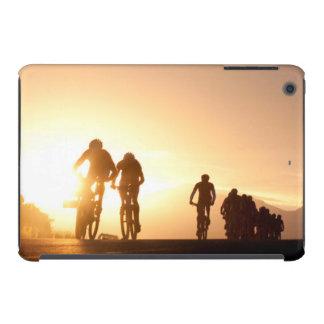 Mountain Bike Riders Make Their Way Over The Top iPad Mini Retina Case
