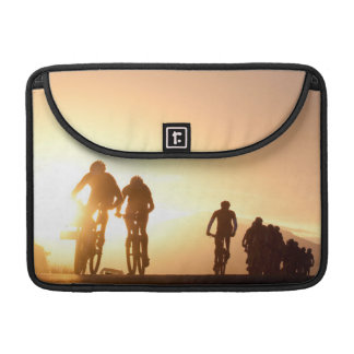 Mountain Bike Riders Make Their Way Over The Top Sleeves For MacBooks