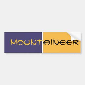 MOUNTAINEER Bumper Sticker
