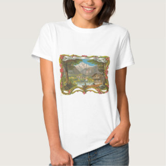 Mountains Idyllic Valley Countryside Father's Day Tshirt
