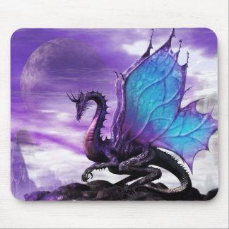Mouse Pad * Blue Winged Dragon * Mousepad mat