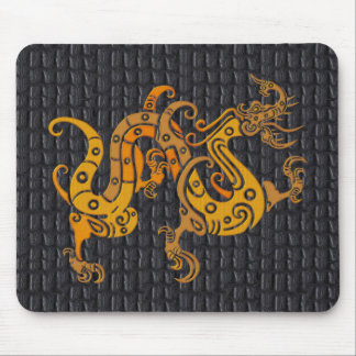 Mousepad Leather Gold Dragon  (25-006)