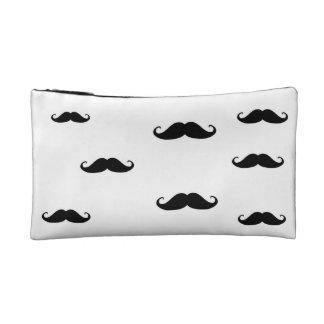 Moustache Bag Makeup Bag