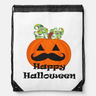 Moustache Halloween Backpacks