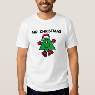 Mr. Christmas | Festive Hat & Gloves Tee Shirts