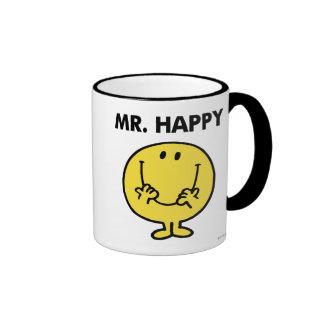Mr. Happy | Giant Smiley Face Ringer Mug