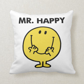 Mr. Happy | Giant Smiley Face Throw Cushions