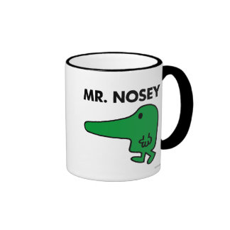 Mr. Nosey   Leading By A Nose Ringer Mug
