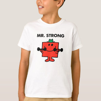 Mr. Strong | Lifting Weights T Shirts