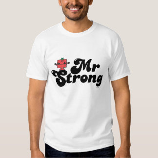 Mr. Strong | Weights & Bubble Lettering Tees