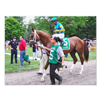 Mr. Z in the 100th Sanford Stakes Art Photo
