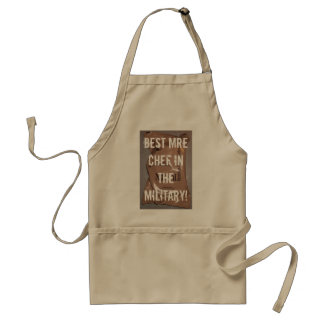 MRE, Best MRE Chef in the Military! Standard Apron