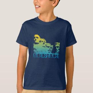 Mt. Rushmore Skyline Design Tee Shirts