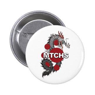 MTCHS Dragon Logo 6 Cm Round Badge