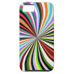 Multicolor Swirl. Chic, Exotic Colourful iPhone 5 Covers