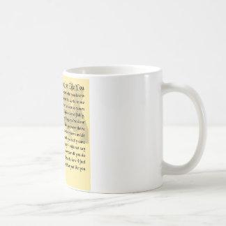 Mum Poem - Boxer Dog Design Basic White Mug