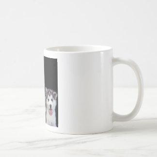 Mum Poem - Husky Dogs Basic White Mug