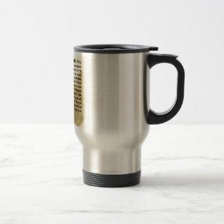 Mum Poem - Yorkshire Terrier Design Stainless Steel Travel Mug