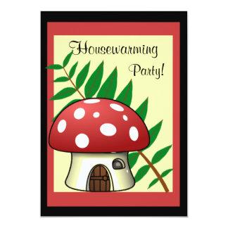 Mushroom Housewarming Invitation
