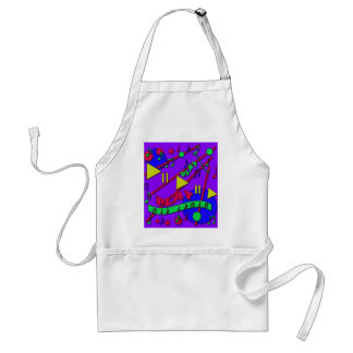Music 2 standard apron