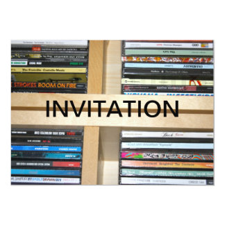 Music CD's by Various Artists Invitation