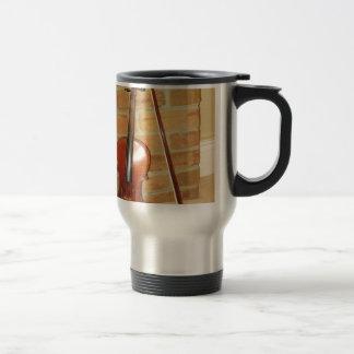 Music  Instruments Stainless Steel Travel Mug