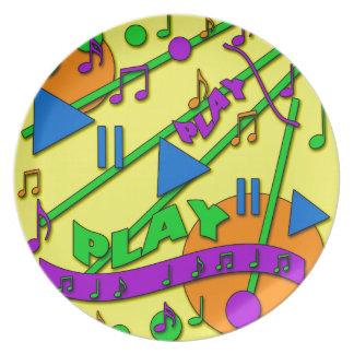 Music Plates
