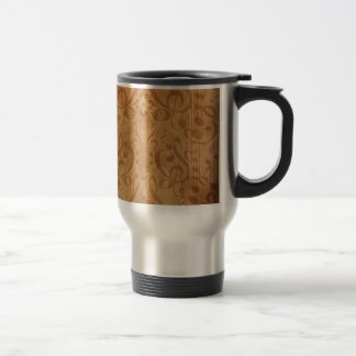 Music Stainless Steel Travel Mug