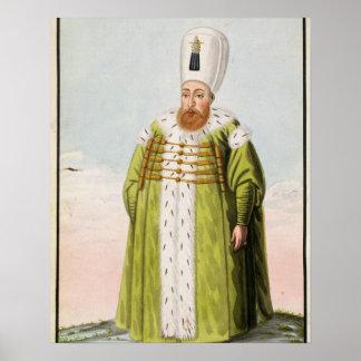 Mustapha I (1591-1639) Sultan 1617-18, 1622-23, fr Poster