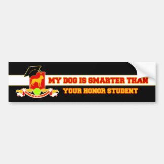 My Amstaff Is Smarter Bumper Sticker
