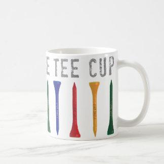 My Favorite Tee Cup Golf Gift Basic White Mug