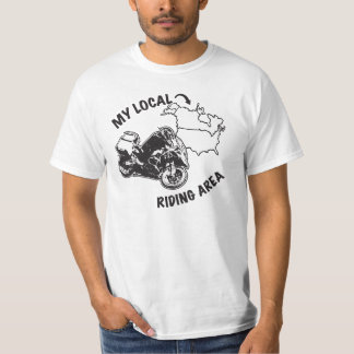 My Local ADV Riding Area - I've Been Everywhere Tshirt
