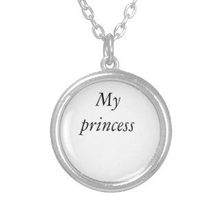 My princess Neckless Round Pendant Necklace