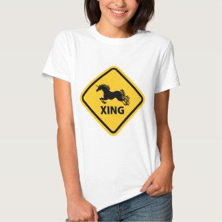 N.A.U.B Unicorn Crossing Sign Tees