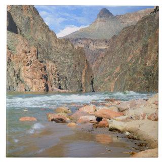 NA, USA, Arizona. Grand Canyon National Park. 2 Large Square Tile
