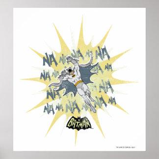 NANANANANANA Batman Graphic Poster