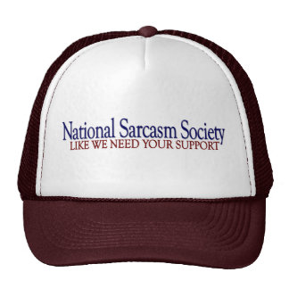 National Sarcasm Society Cap