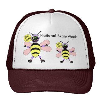 National Skate Week - Bee Safe Cap