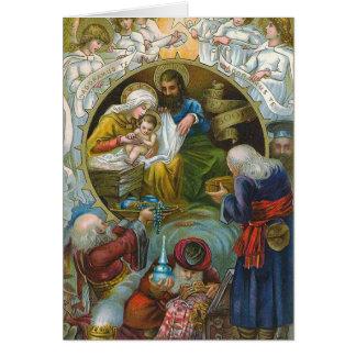 """Nativity Scene"" Greeting Card"