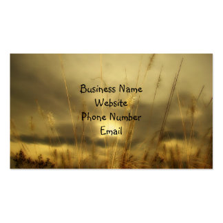 Nature Pack Of Standard Business Cards