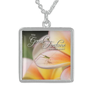 Nature's Folio DAILY INSPIRATIONS Gift Ideas . . . Square Pendant Necklace