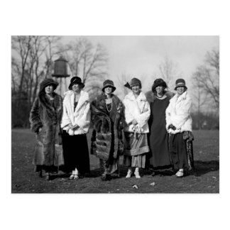 Navy Debutantes, 1920s Postcard