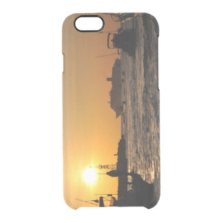 Navy the Cabos SunSet Clear iPhone 6/6S Case