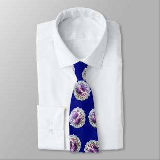 Neck Tie - Eosinophilia on blue